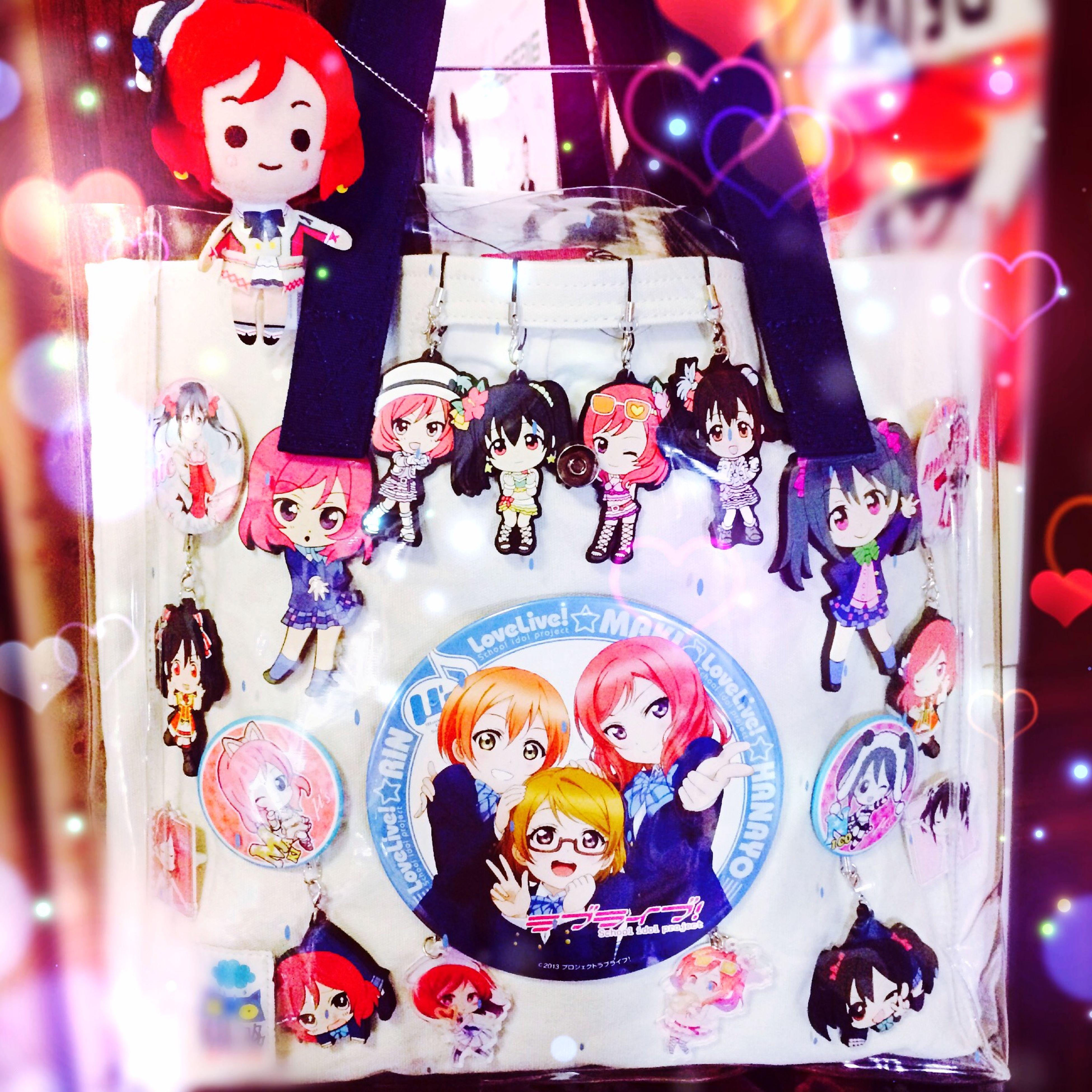 lovelive Maki Nico Love Live Bag