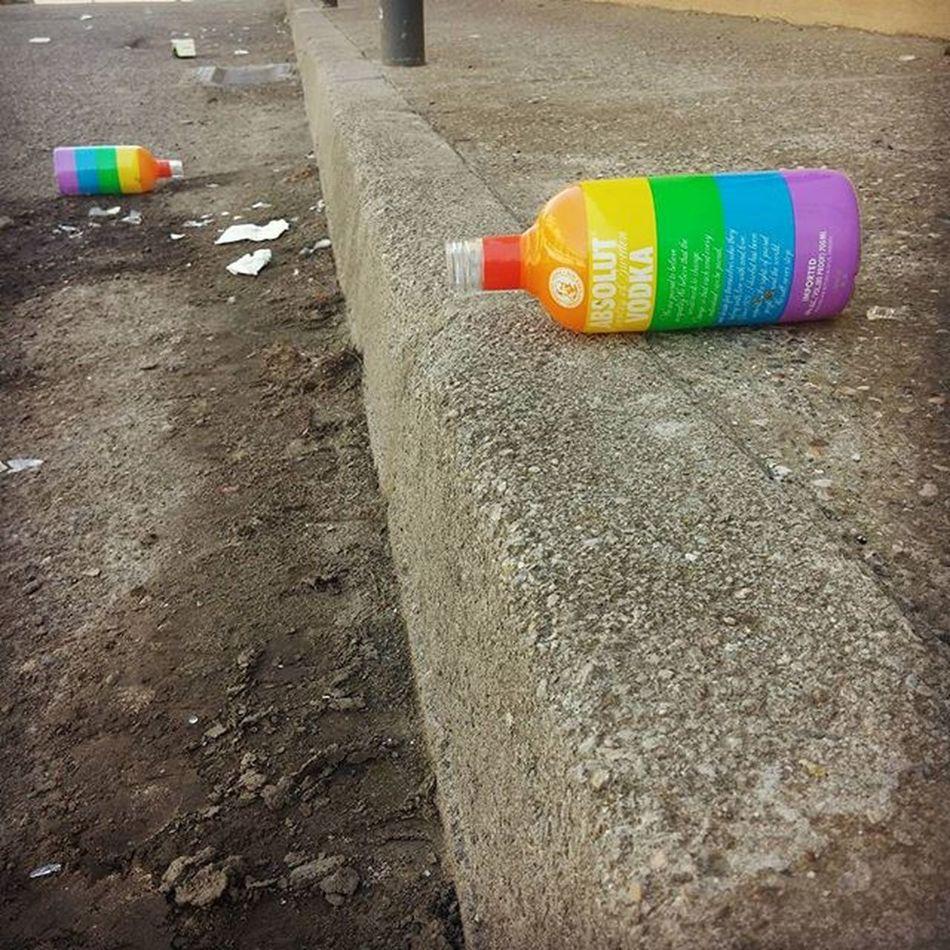Lleida Partyisover Thatwasgood Lgbt Rainbow ABSOLUT Vodka Street