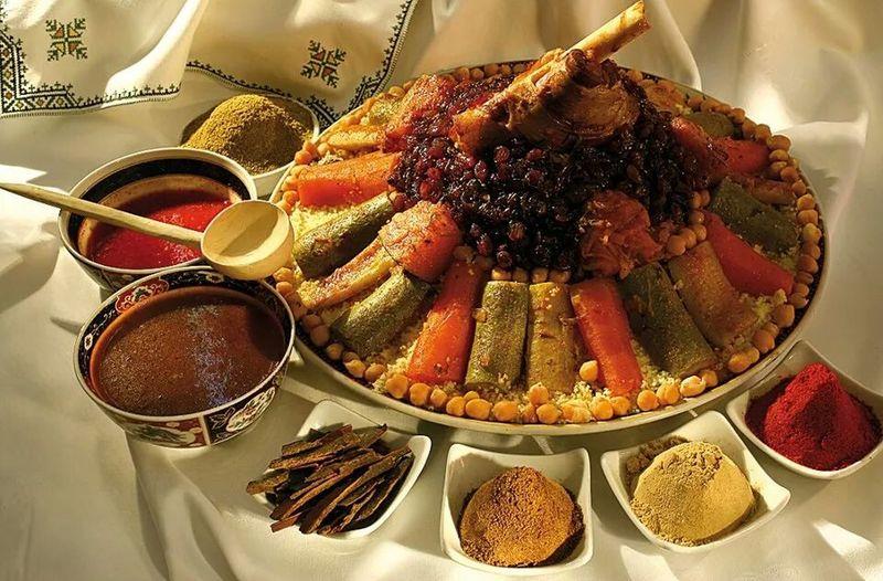 Food Porn ... Moroccan couscous