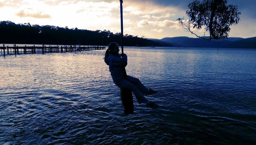 Tyreswing Water Tree Shore Tasmania