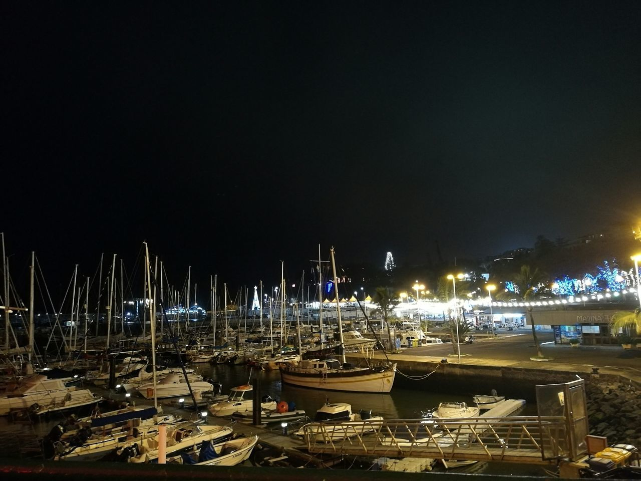 Night No People Moored Outdoors Nautical Vessel Water Surface Tranquility Alonetime