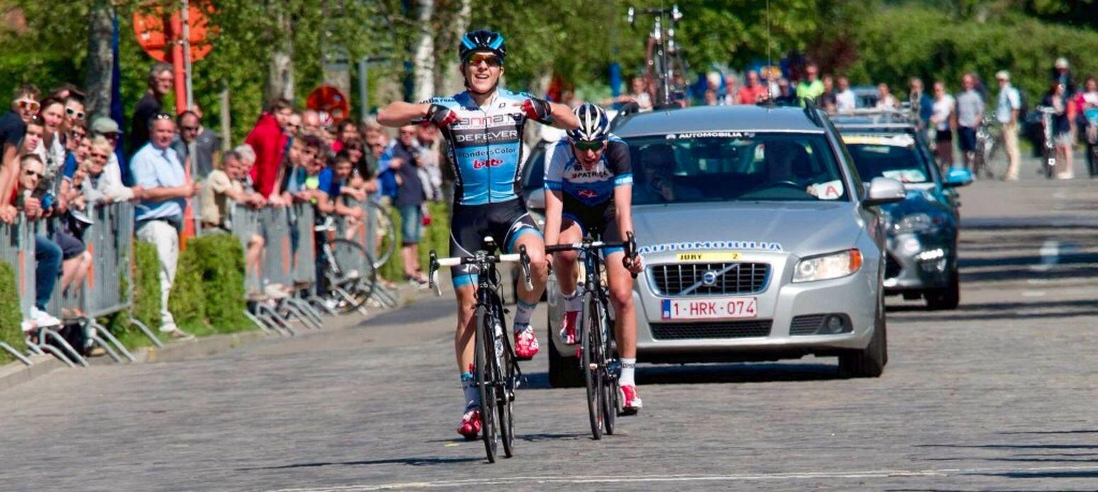 Cycling Winner Koksijde Interclub2015