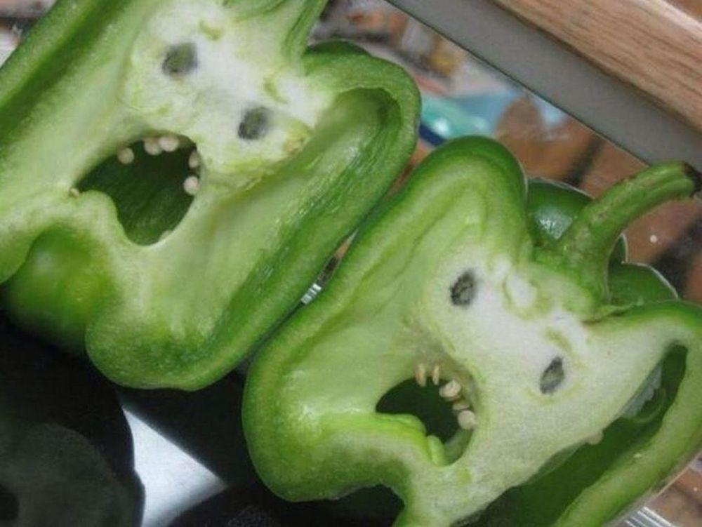 Vegetables Crazy Faces