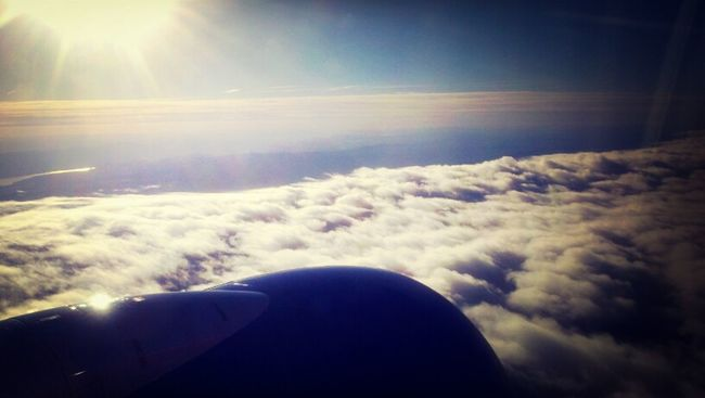 with views like this i guess flying isnt that bad!!!!