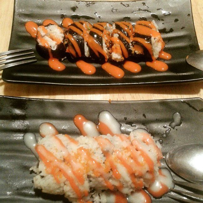 Kimbob madness! Californian & beef roll DinnerSnack
