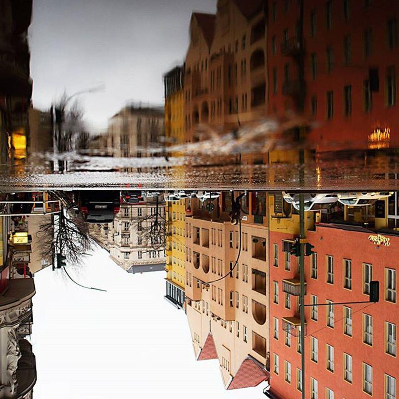 Heute in Schöneberg Berlinschöneberg Berlin Grunewaldstrasse Akazienkiez Puddlegram Berlin_puddle Streetsofberlin