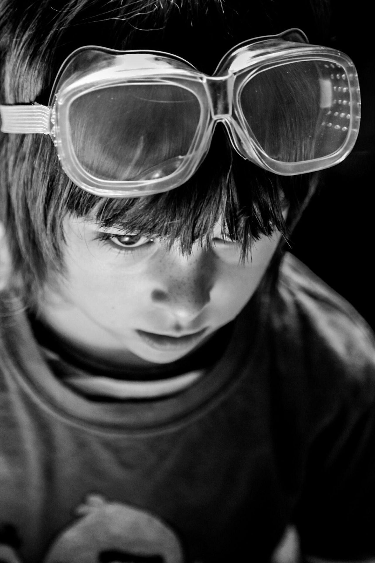 Childhood Portrait Headshot Close-up Indoors  Day Sunglasses Lauraloophotography Lifestyles