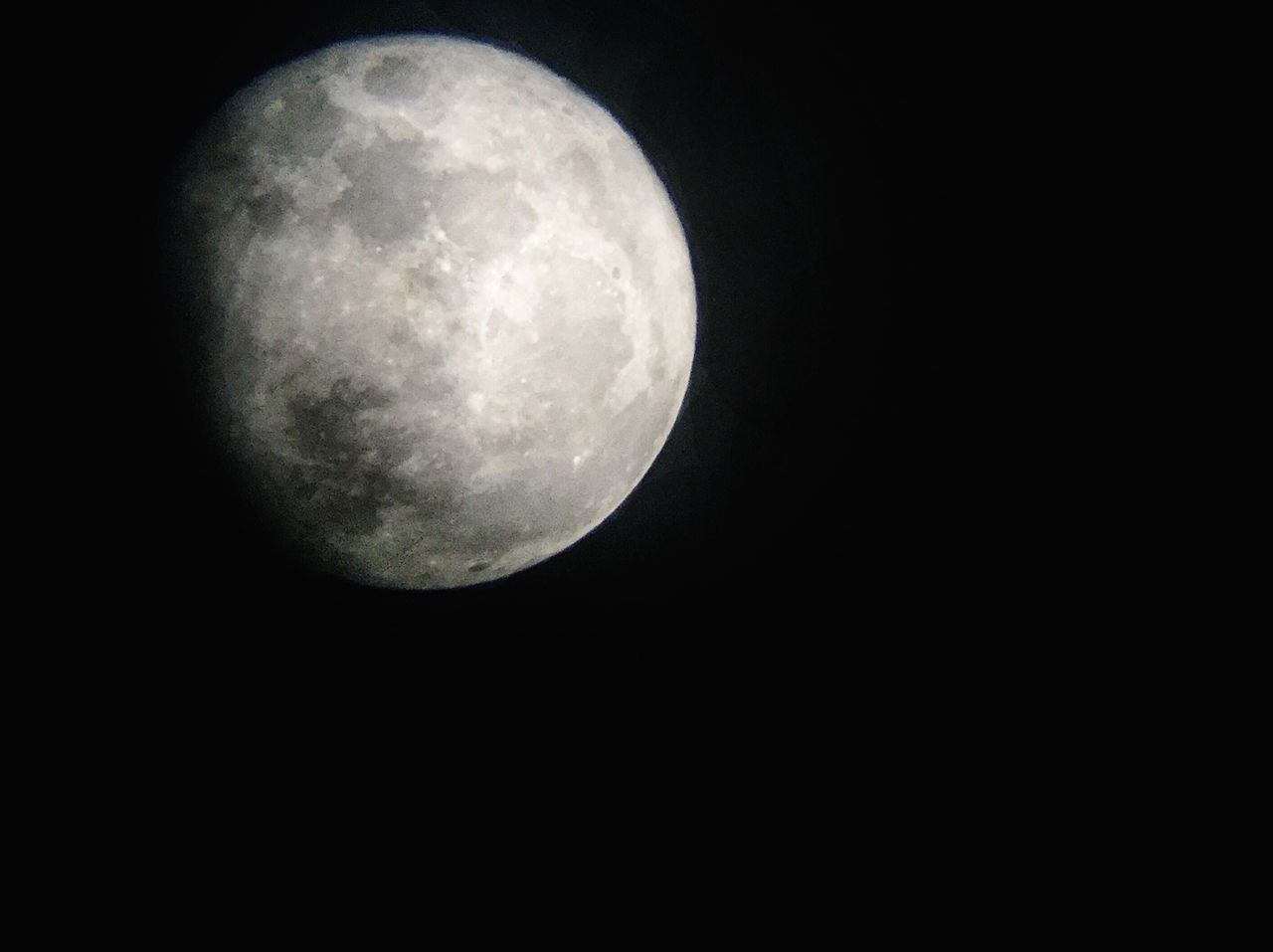 Moon Full Moon Night Astronomy No People Nature Moon Surface Clear Sky Outdoors Black Background Planetary Moon Sky Beauty In Nature Space Supermoon2016