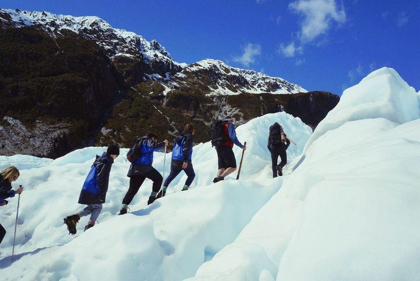 Hello World Brave Newzealandnatural climbing to the top