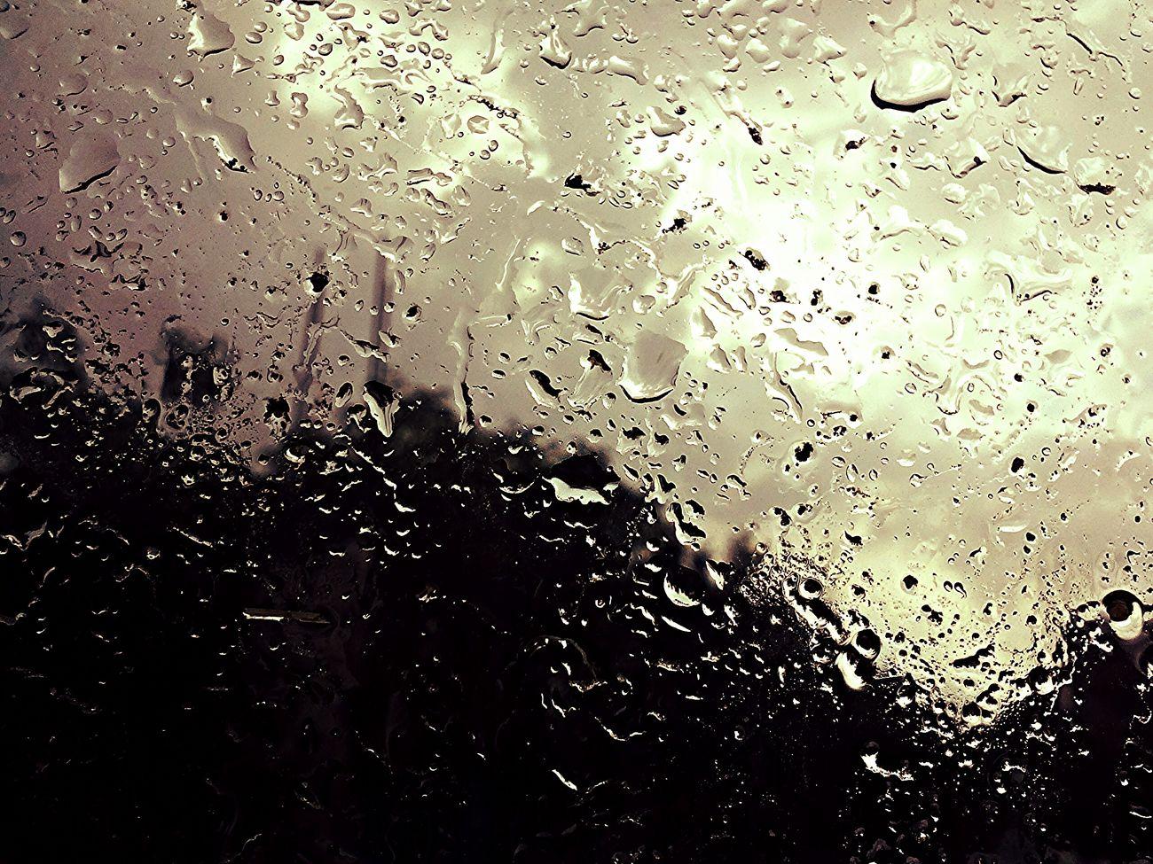 Rain Drops Quality Time Rain Silhouette