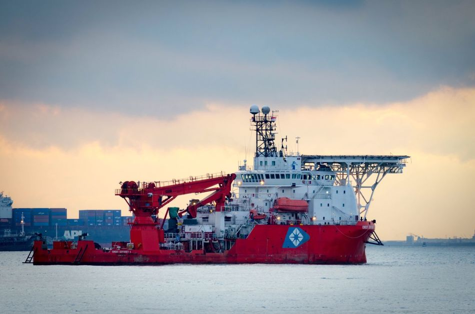 Sky Industry Sea Outdoors Cloud - Sky No People Water Nature Day Offshore Platform Architecture