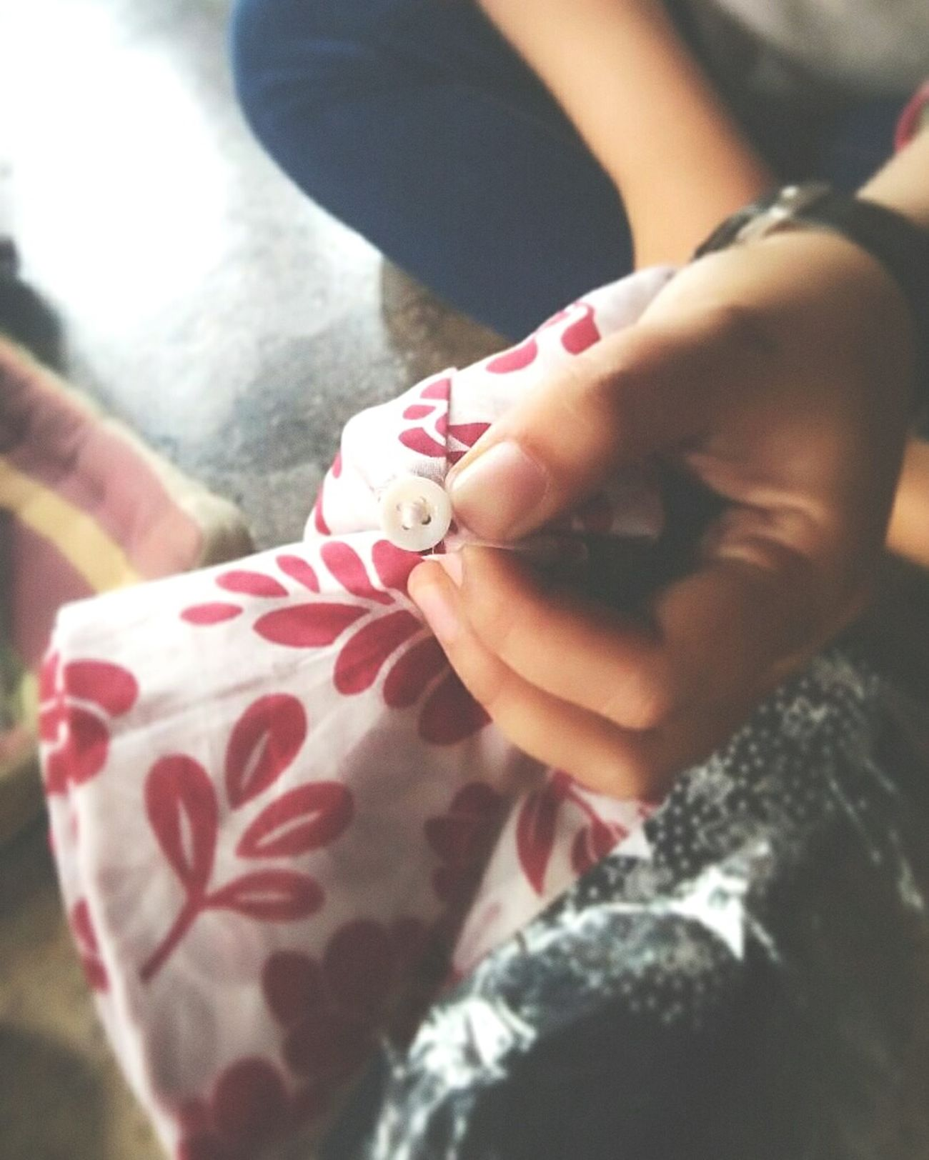 A Jorney called Life. It's just a small button, but its function, to collate the one side and the other side. The button is a HOPE, which wants to make everything close neatly, united, and inseparable. Button Up Shirt Colors and patterns Focus Object