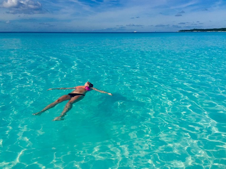 Beautiful stock photos of bahamas, Arms Outstretched, Beauty In Nature, Bikini, Carefree