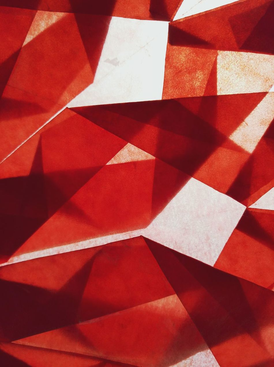 Red Abstract Backgrounds Whats This? Handmade We Are Photography, We Are EyeEm EyeEm Best Shots Pattern Pieces Pattern, Texture, Shape And Form Art Is Everywhere