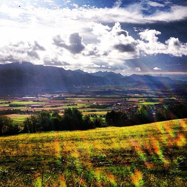 Landscape les Monts du Matin en contreforts du Vercors Stravambassador