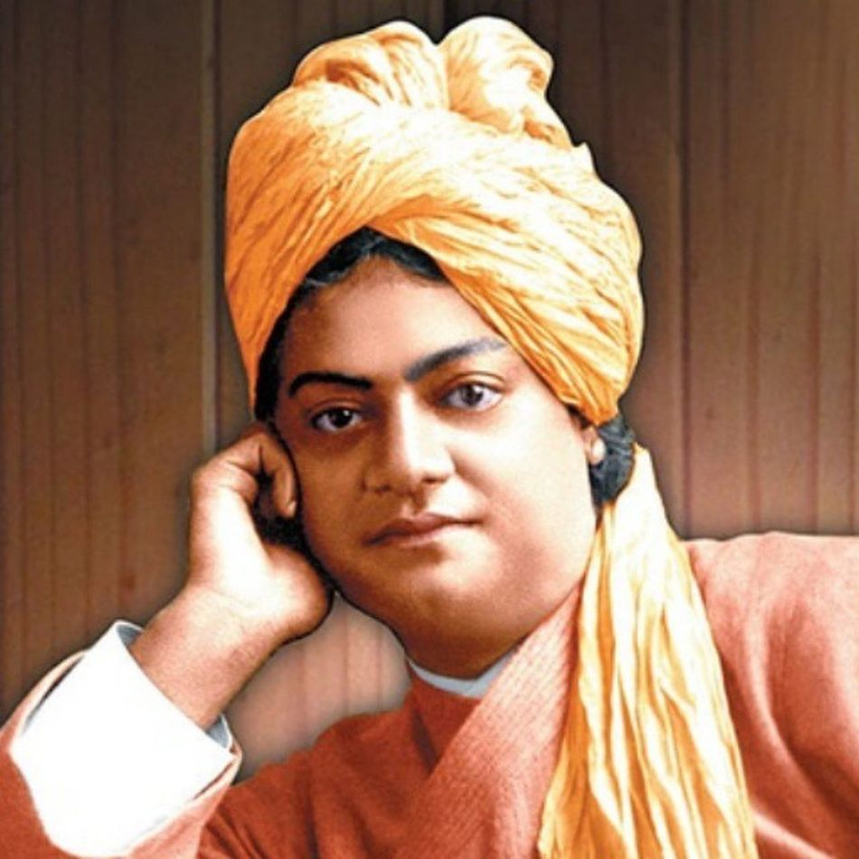 """Swamivivekanand ji- """"One infinite pure & holy – beyond thought beyond qualities I bow down to thee."""" NationalYouthDay"""