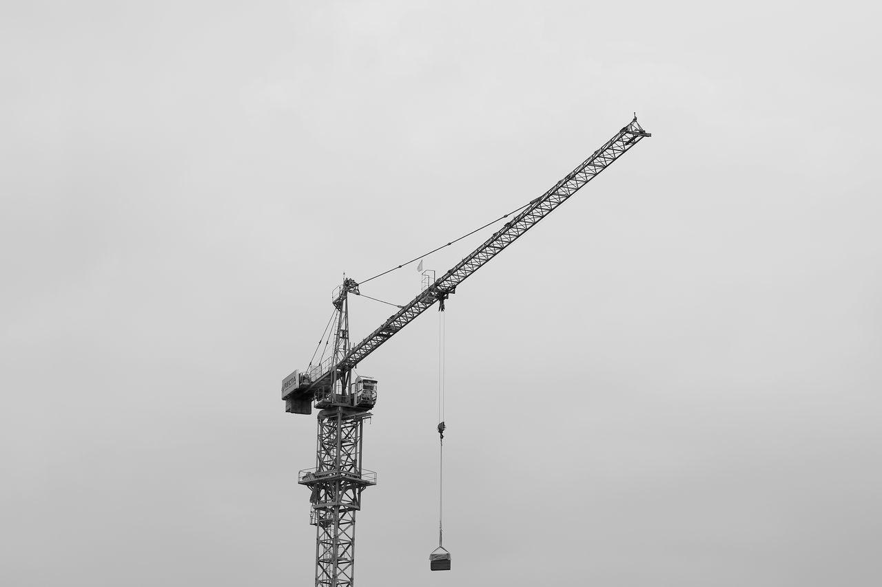 Beautiful stock photos of work, construction site, development, crane - construction machinery, crane