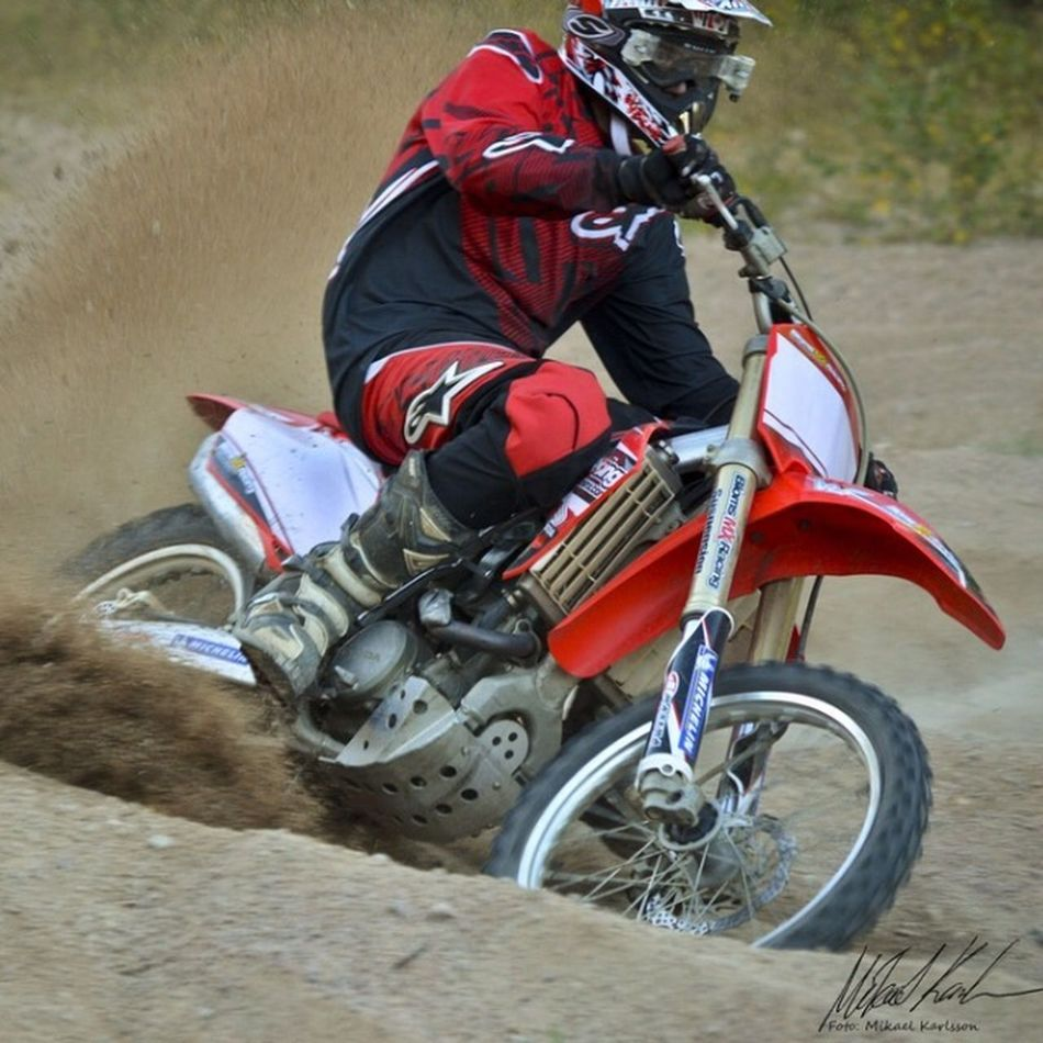 Henke i gropen. Motocross Dirt Nikon D7000