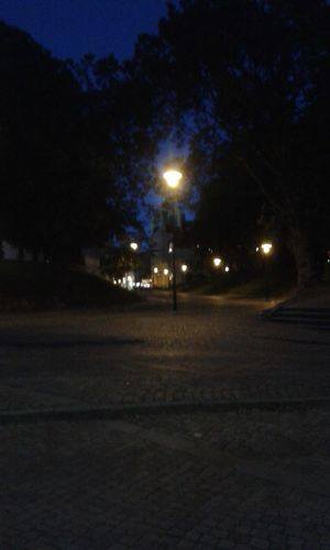 Kalmar at night