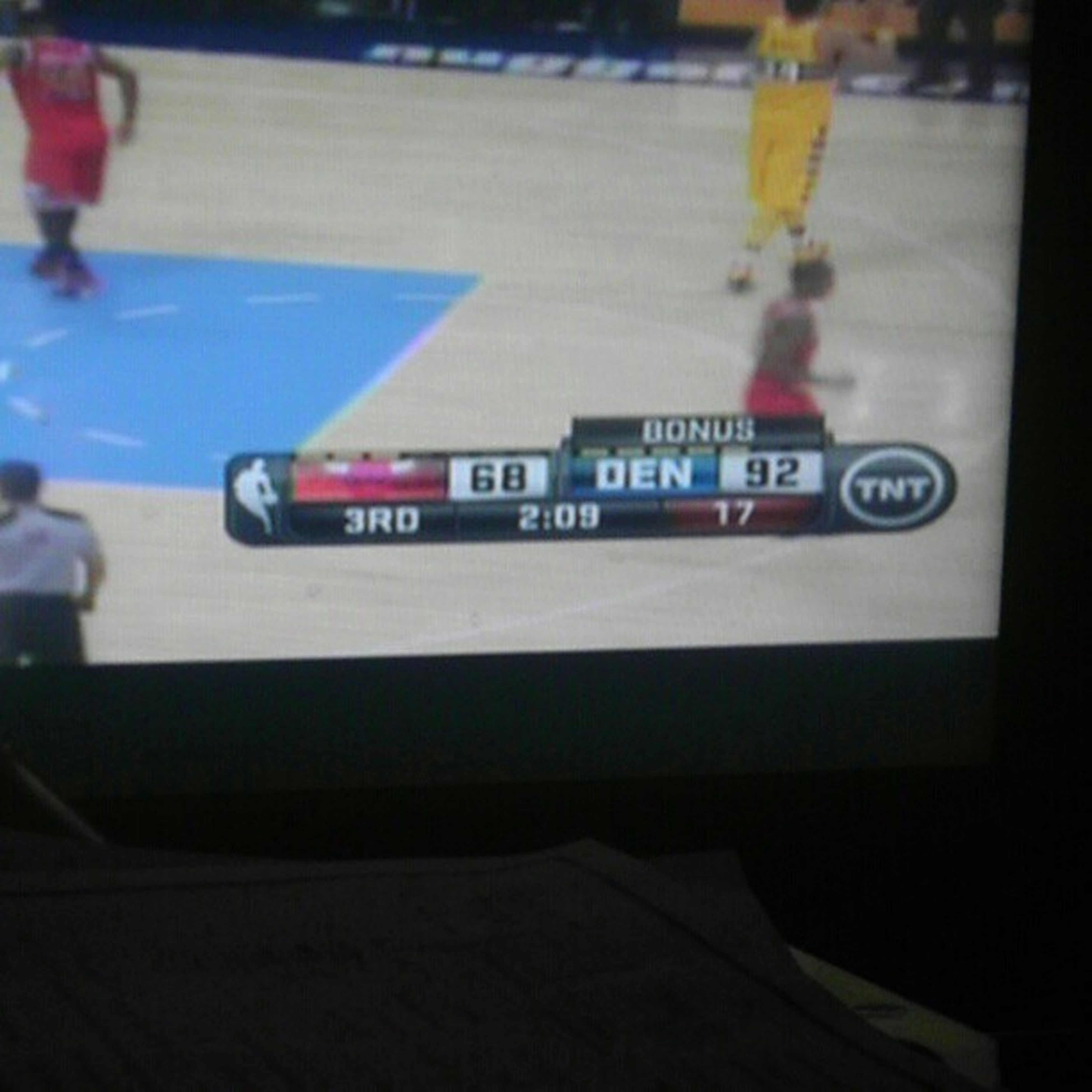 If this score gets any worse Nuggetsnation