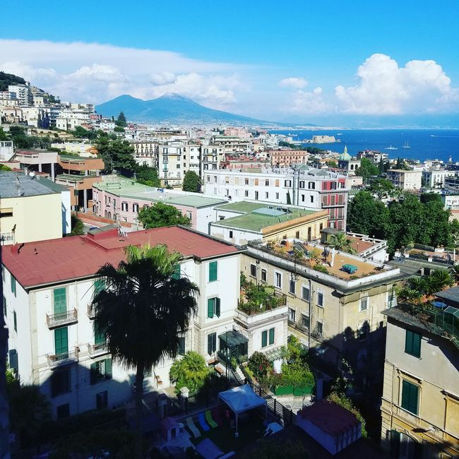 The view from my Hospital room in Naples, Italy City Sky Cityscape Town Naples, Italy