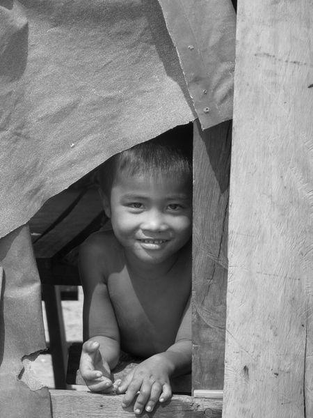 Travel Photography Traveling Travel Volunteering Cambodia ASIA Southeastasia Stung Treng Children Südostasien Kambodscha People Kids Blackandwhite One Person Person Portrait