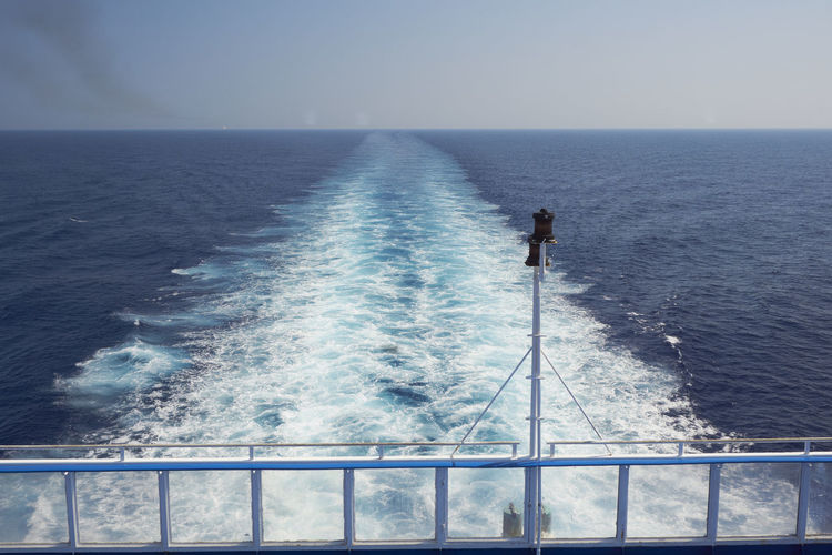 Ferry Beauty In Nature Blue Boat Car Ferry Ferry Holidays Horizon Over Water Idyllic Nature No People Ocean Outdoors Returning Home Rippled Scenics Sea Seascape Selfie Ship Sky Tranquil Scene Tranquility Water Waves Waves, Ocean, Nature