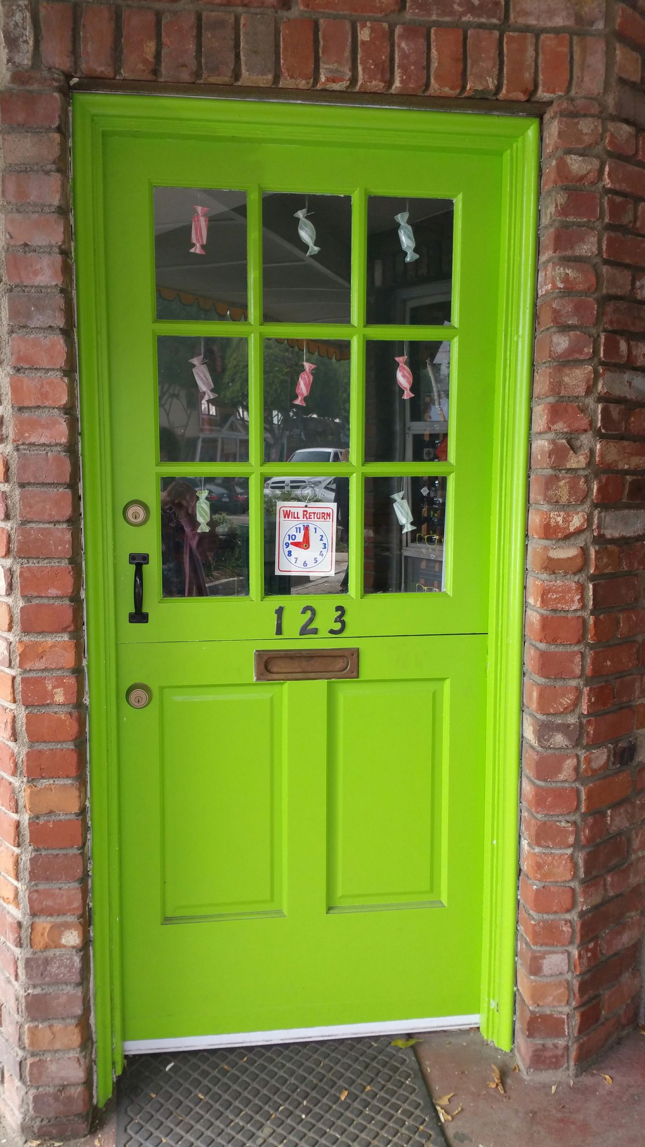 Green Door Brick Street Photography Interesting Pattern, Texture, Shape And Form Pattern Discovering Walking Around Day In Beach Town Enjoying Life Fun Sweets Sweets In Window Advertising Cute Showcase: February Surf's Up Sea