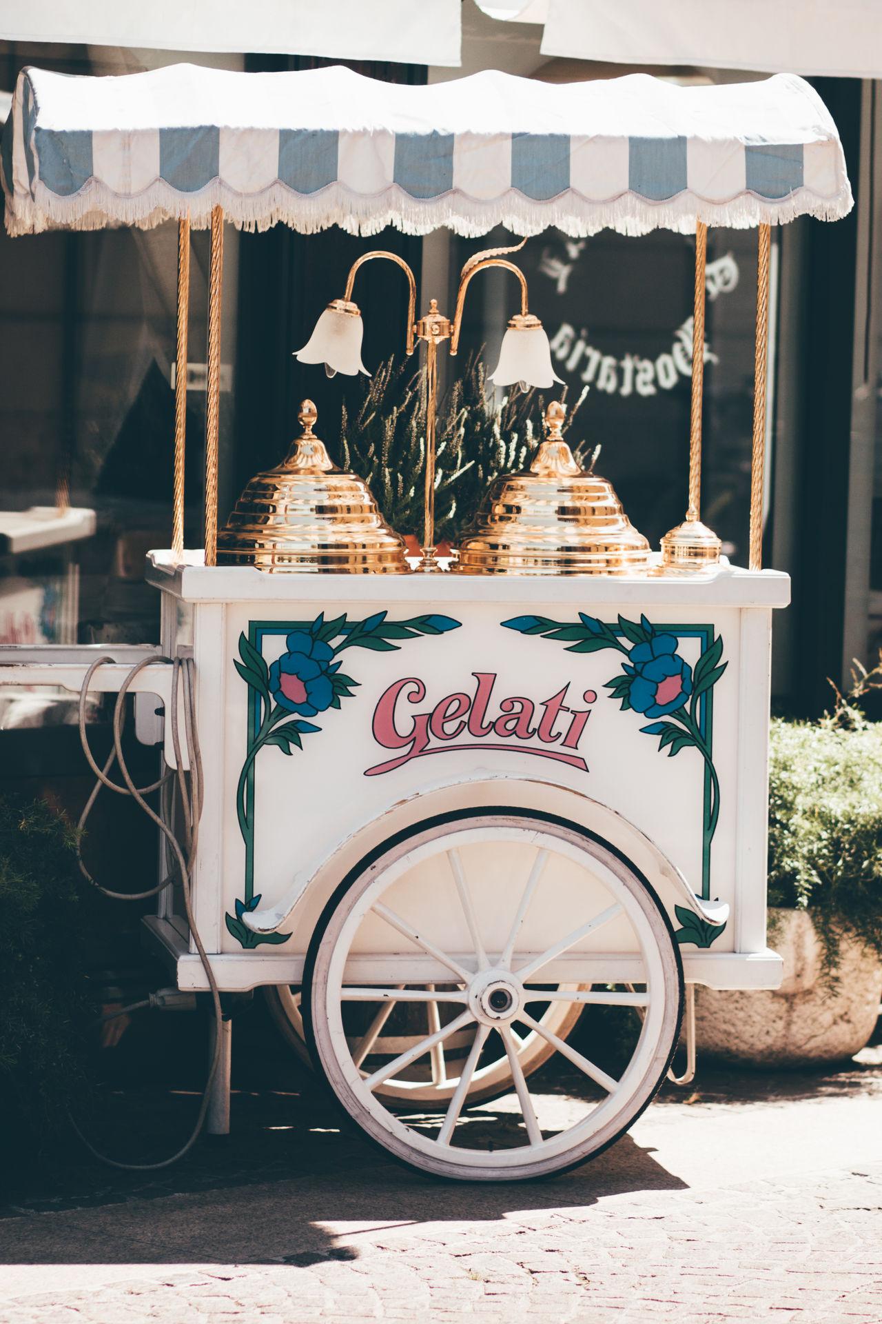Day Eiskutsche Eismann Eiswagen Gelati Gelatin Dessert Ice Cream Italian Food Italian Ice Cream Italy No People Outdoors Travel