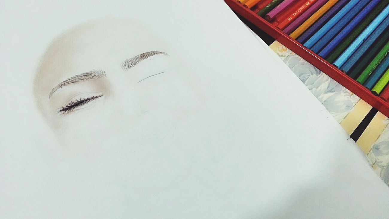 My Drawing Draws Color First Eyeem Photo ❄