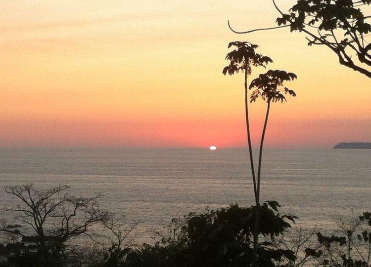 Sunset Pacific Ocean Costa Rica