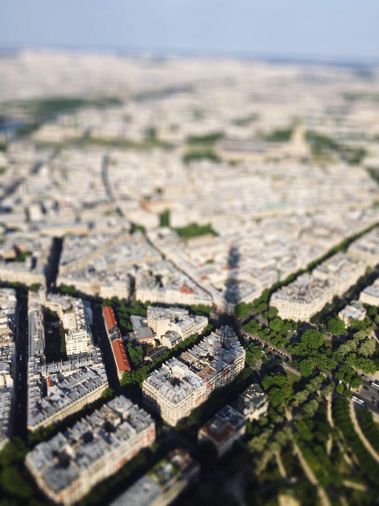 Aerial Shot Paris Tour Eiffel Eiffel Tower