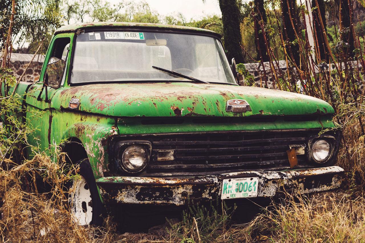 Truck Vehicle Camioneta Furgoneta Green Verde Vehiculo