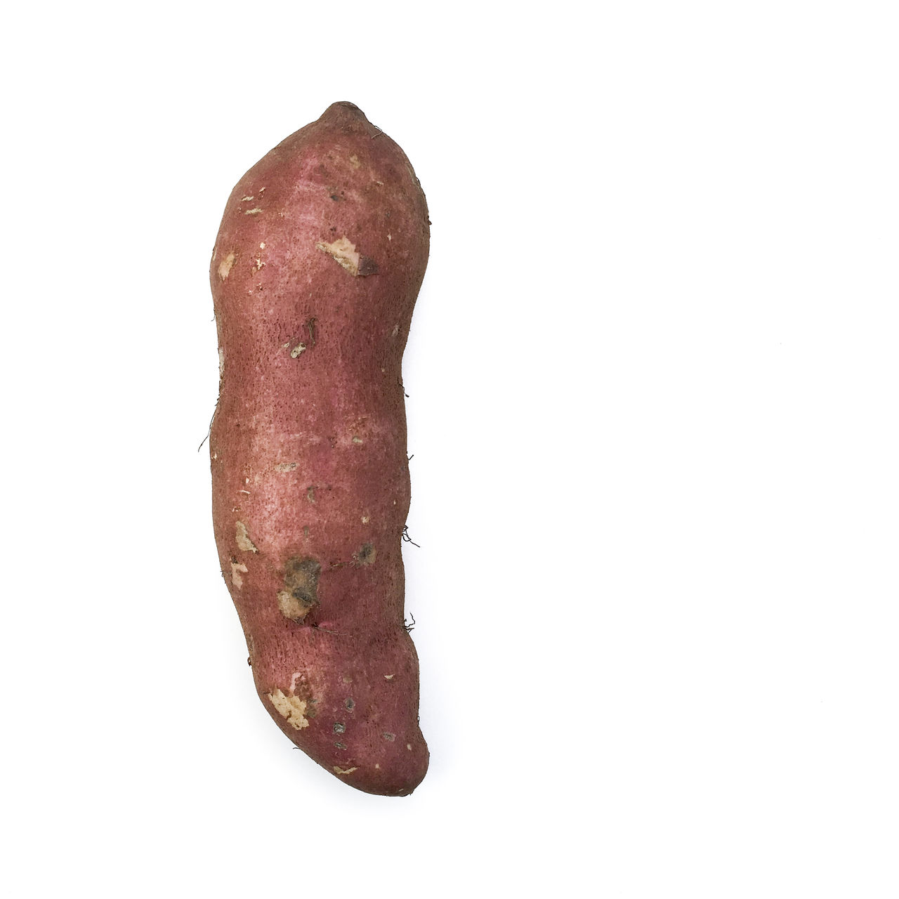 Sweet Potato Close-up Copy Space Copy Space Cut Out Food Food And Drink Freshness Healthy Eating Red Root Single Object Skin Still Life Studio Shot Sweet Potato Sweet Potatoes Vegetable White Background