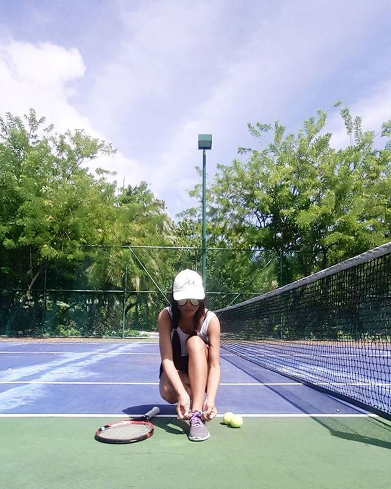 Tennis Sportgirl SportTime Sports Fit Exercise