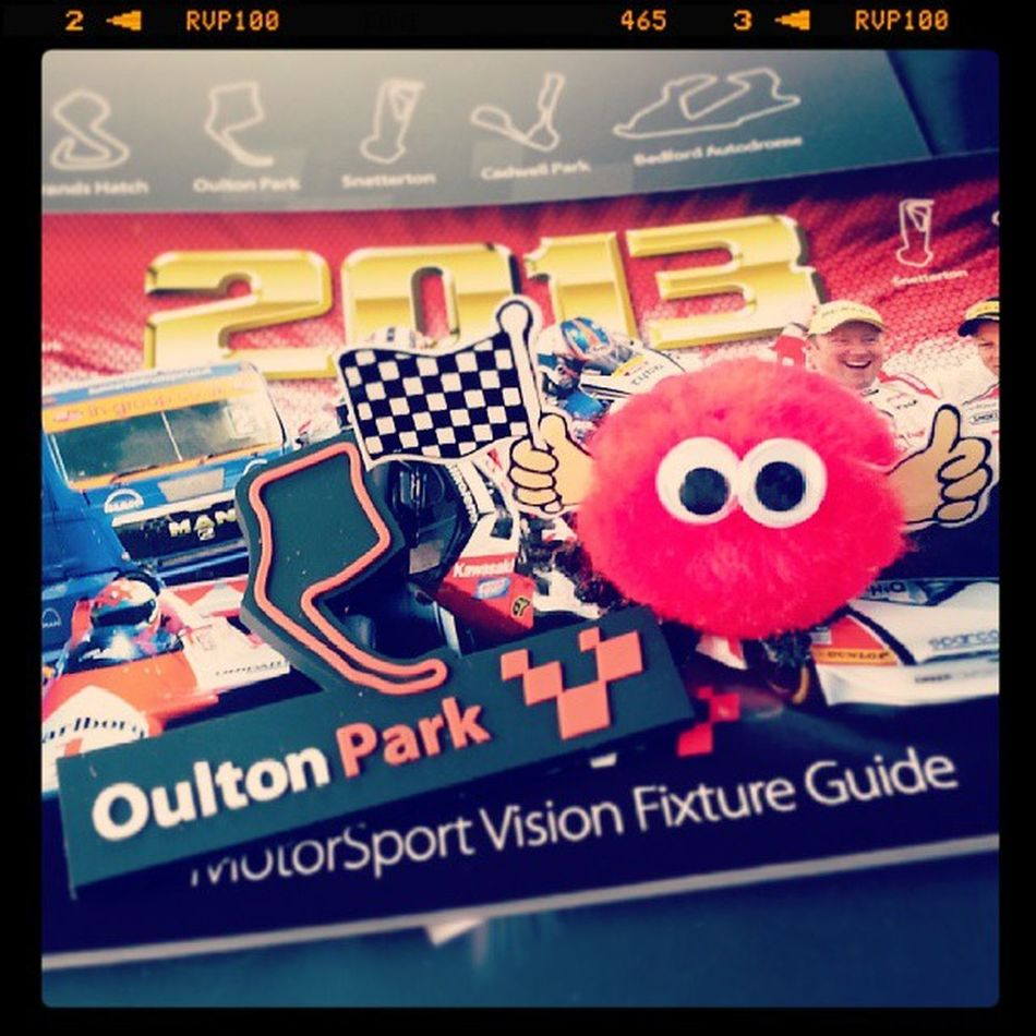 Thumbs up, top day out :) Oultonpark Souvenir Gonk Racing fun thumbsup dayout familytime goodfun 2013 cars memories