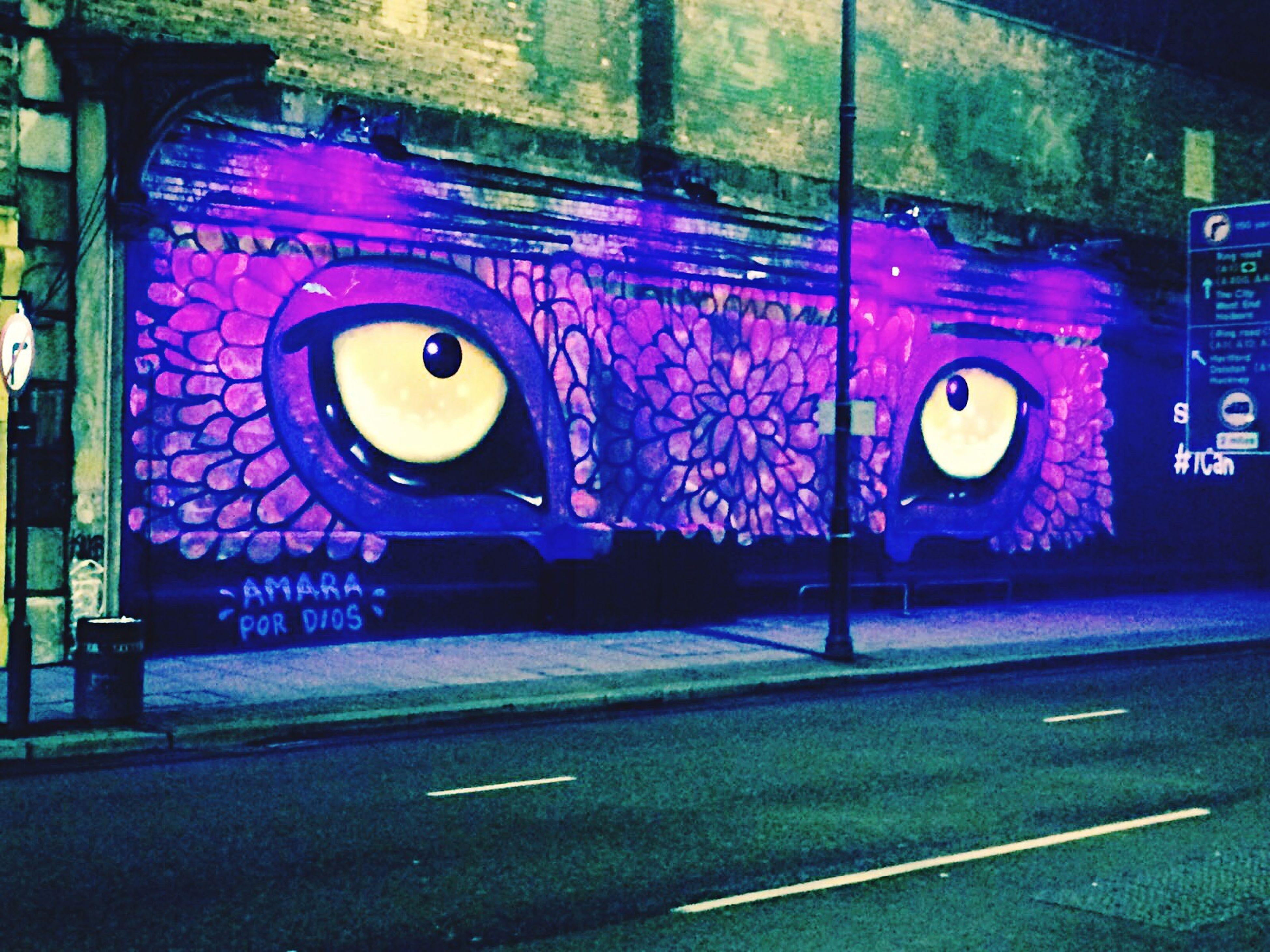 Streetart London Shoreditch Colourfuldragon