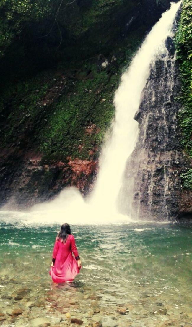 Kemumu waterfall..one of paradise from Argamakmur,Bengkulu,Indonesia.. Waterfall #water #landscape #nature #beautiful Waterfall Nature Paradise Wonderful Indonesia Explorebengkulu INDONESIA Bengkulu