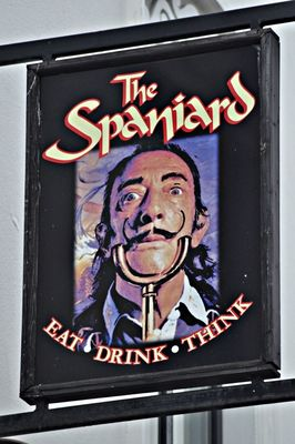 salvador dali at The Spaniard by Gerard