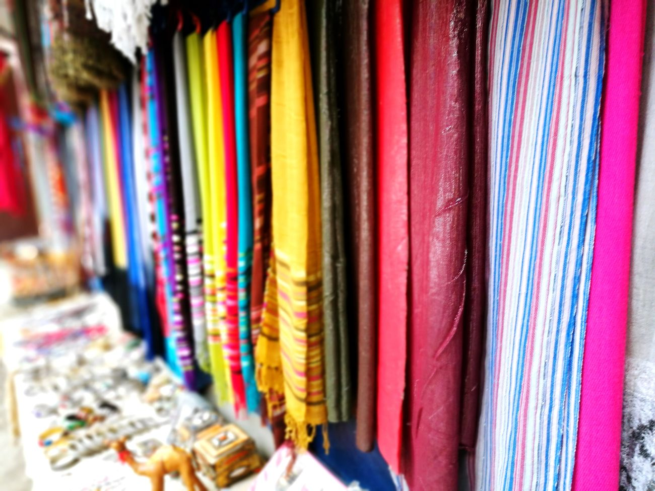 Colourful fabrics Multi Colored Choice Variation Retail  Large Group Of Objects For Sale Indoors  Store Fashion Textile Close-up Day Fabrics