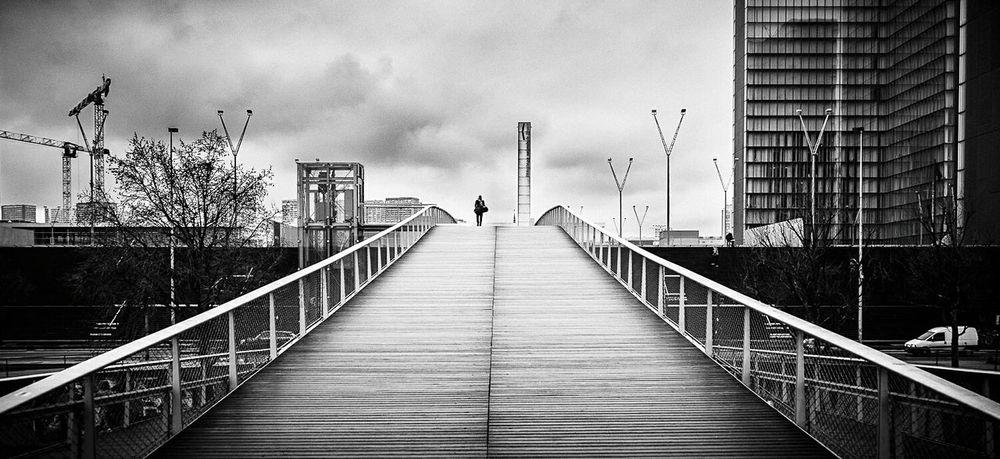 The Lone Man. Showcase: February This Week On Eyeem Composition EyeEm Masterclass EyeEm Gallery EyeEm Best Shots Perspective Streetphotography Street Photography France Paris Architecture Urban Landscape
