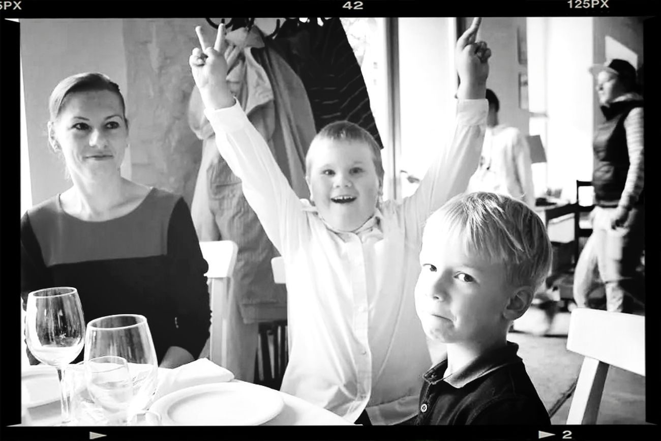 Birthday!! Tasty Dishes Great Atmosphere Cute Kids First Eyeem Photo