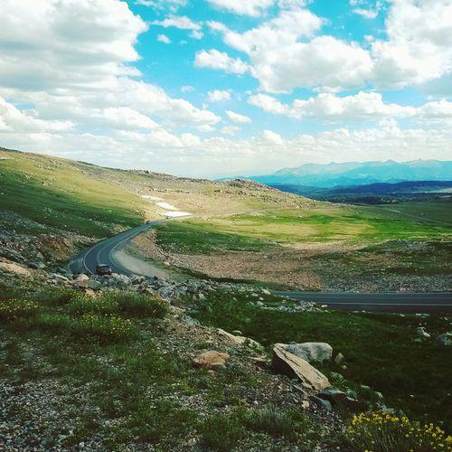 Beartooth Highway Beartooth Beartooth Pass Wyoming Montana Road Trip Mountains