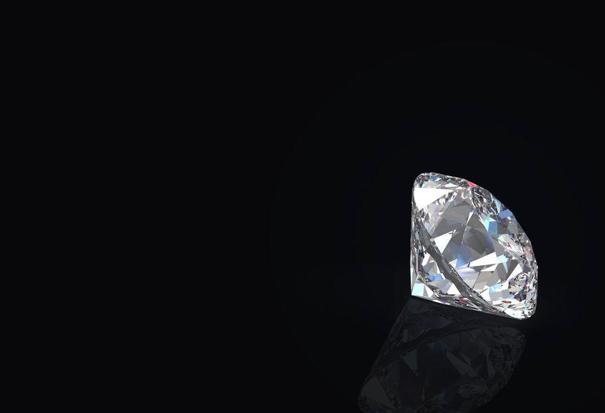 a luxury gemstone diamond on black background Reflection Beauty Black Black Background Close-up Copy Space Crystal Diamond Gemstone  Jewelry Luxurious Luxury No People Object Precious Gem Studio Shot Wealth