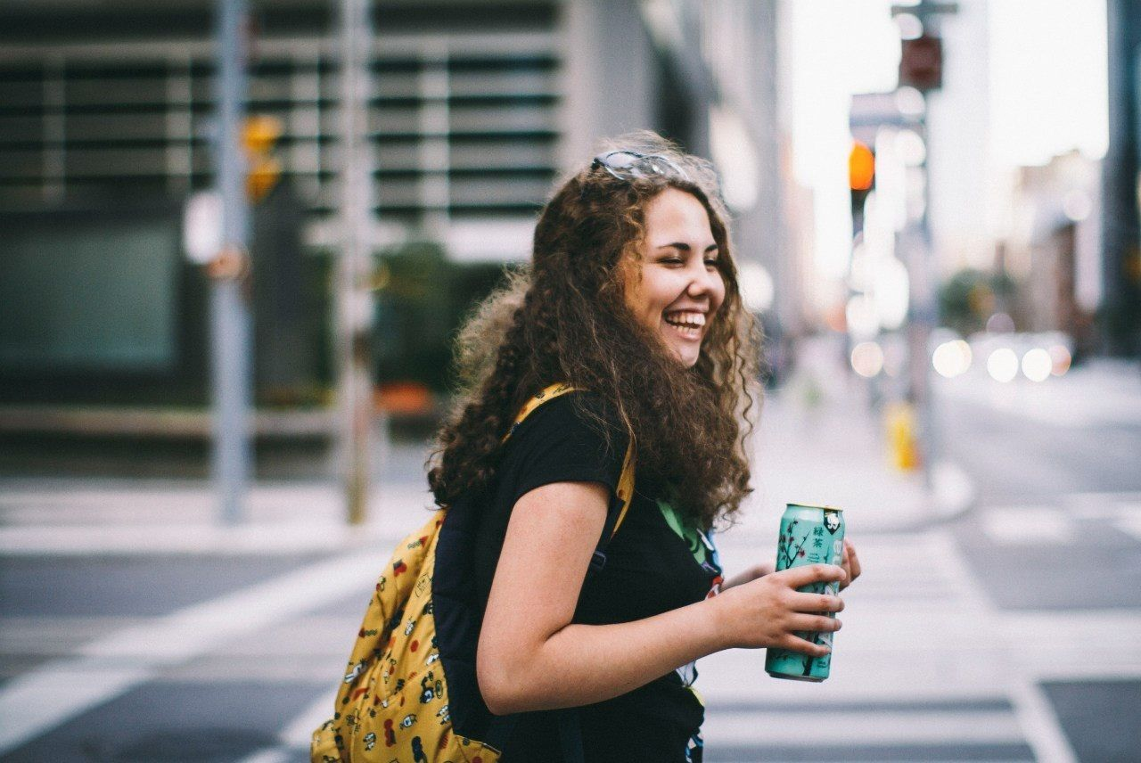 Beautiful stock photos of happy, Bottle, Casual Clothing, Caucasian Ethnicity, Close-Up