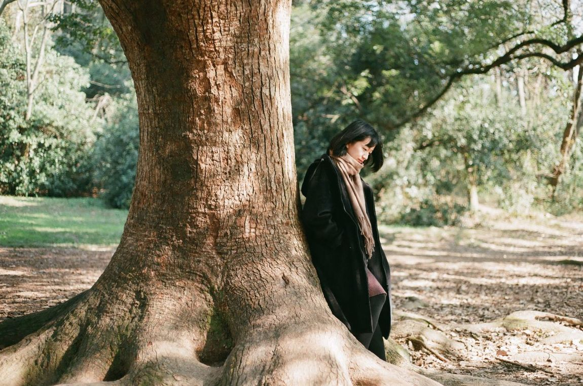 Film Film Photography Filmisnotdead Tree Under The Tree One Person Beauty In Nature Nature Portrait Portrait Of A Woman Outdoors ThatsMe My Unique Style