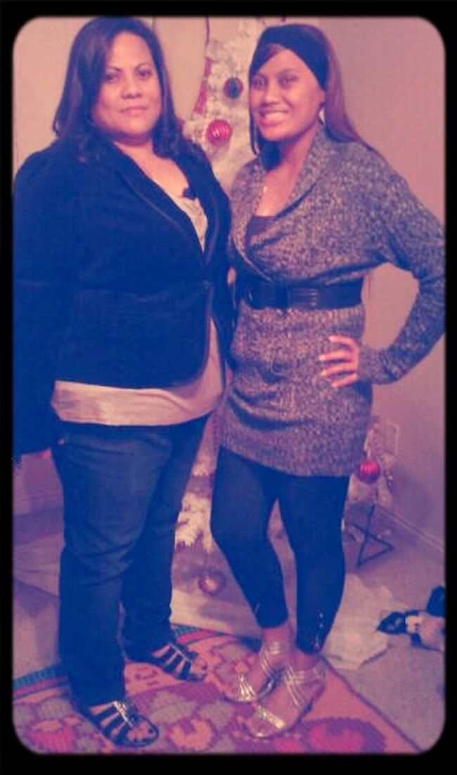 my step mother. thank god for her, she's a true blessing to my family & I (: