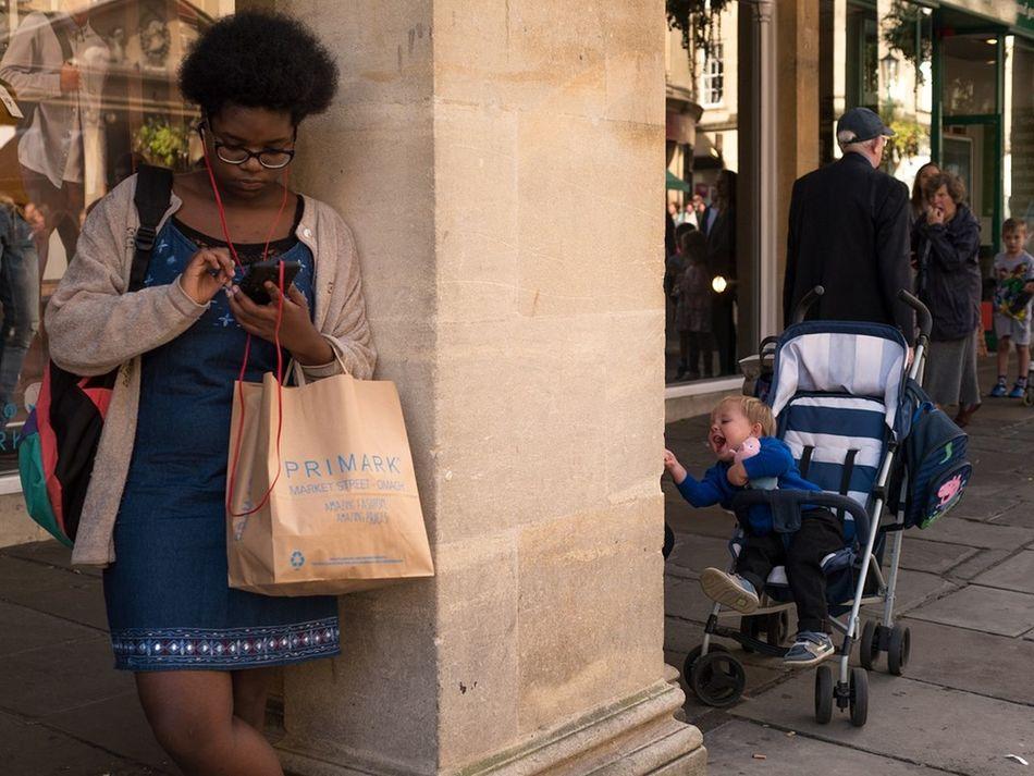 Pillar of contrasts - Bath, Oct 2016 Street Photographer Street Photography Street Color Candid Capture The Moment Bath The Week On EyeEm EyeEm Best Shots - The Streets