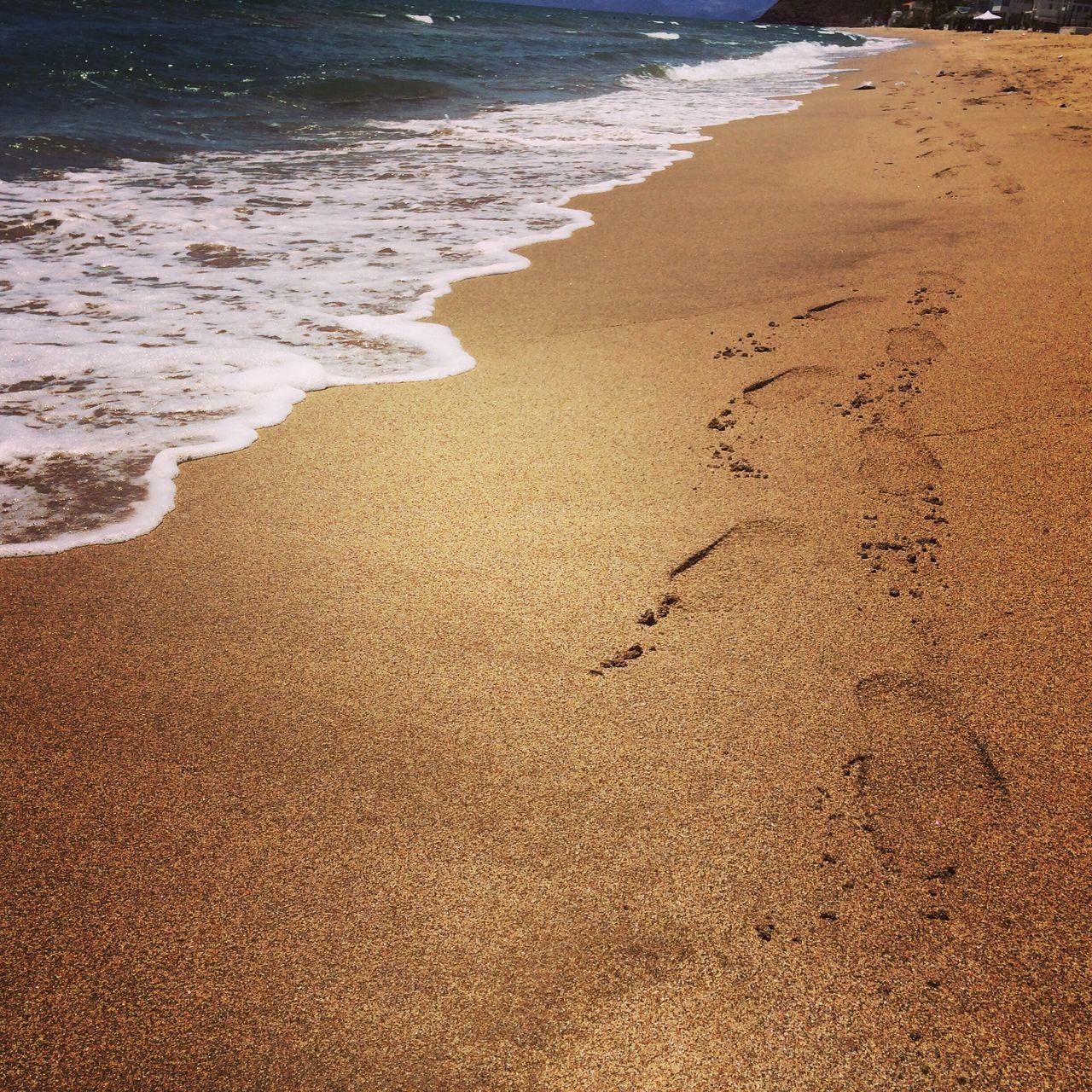 Huellas En La Vida Huellas Playa #beach Olas Del Mar