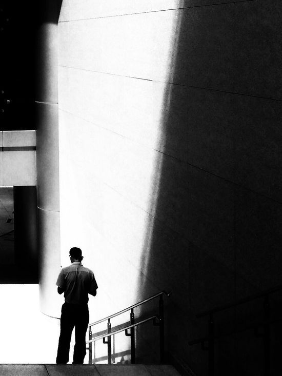 Downlighting and contrast The Illuminator - 2014 EyeEm Awards Black & White IPhoneography